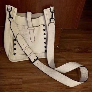 Rebecca Minkoff White Leather Crossbody Purse